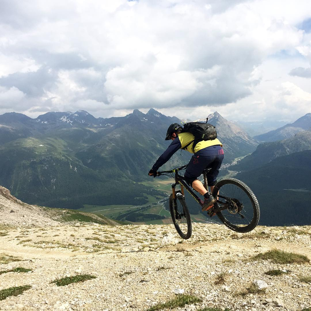 What a weekend! I am looking forward to ride these trails again at the @rockymountainbicycles Trail Games (www.trailgames.ch) in the beautiful Engadin. Check out the unique event and be a part of it!