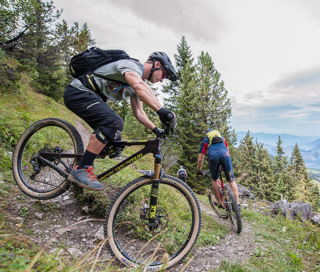 Let the adventure begin! The six-days bike race @swiss_epic starts tomorrow. Track me and @alexfiva here: http://live.tractalis.com/swissepic2016/ Team Name: Ride Flow / Number: 516  @balzweber
