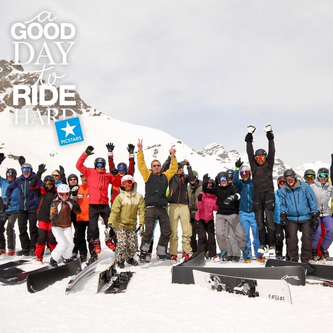 Looking forward to tomorrow when the 6th edition of the Snowboard Carving Camp kicks off! www.carvingcamp.ch