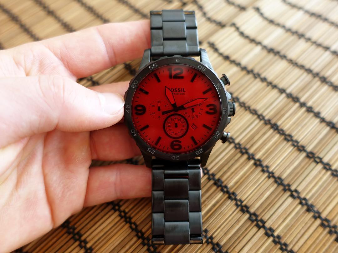Coolest @fossil watch I own. Too bad it's availability is very limited in some countries.