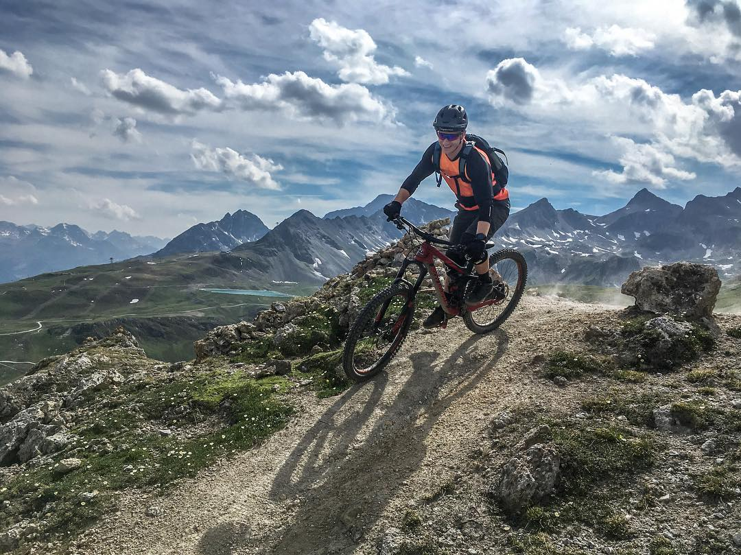 Scouting trails for this years @rockymountainbicycles Trail Games 🏼 www.trailgames.ch