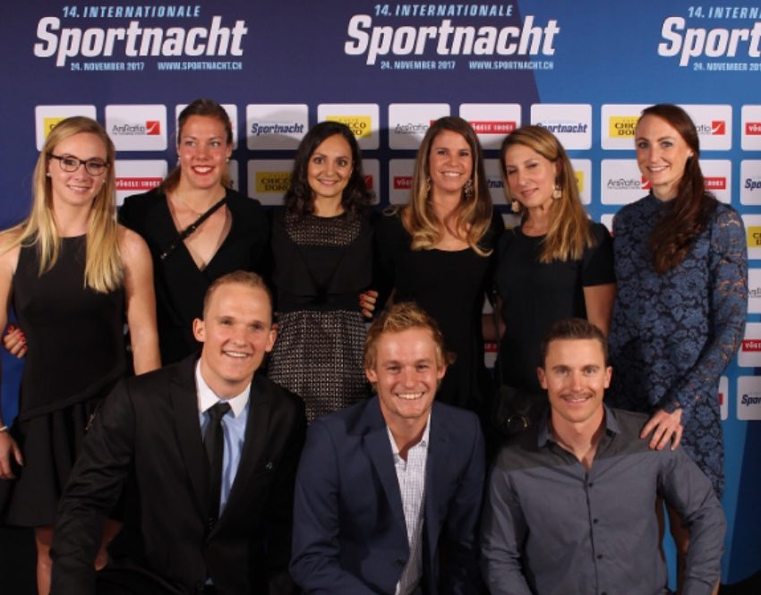 Happy faces at the Internationale Sportnacht @isn_davos