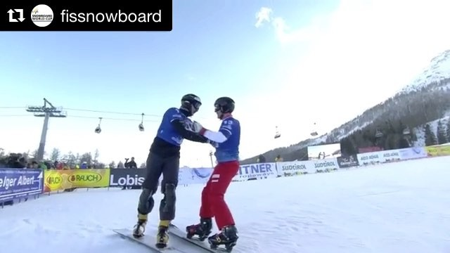 2nd place at the @fissnowboard Worldcup Carezza ITA! What a great start into the season 🤘🏽 - @fissnowboard (@get_repost) ・・・ After placing second at the @carezzaski in 2015 and 2016, @sobol271189 finally walks away with the win beating @nevingalmarini in the men's PGS final.