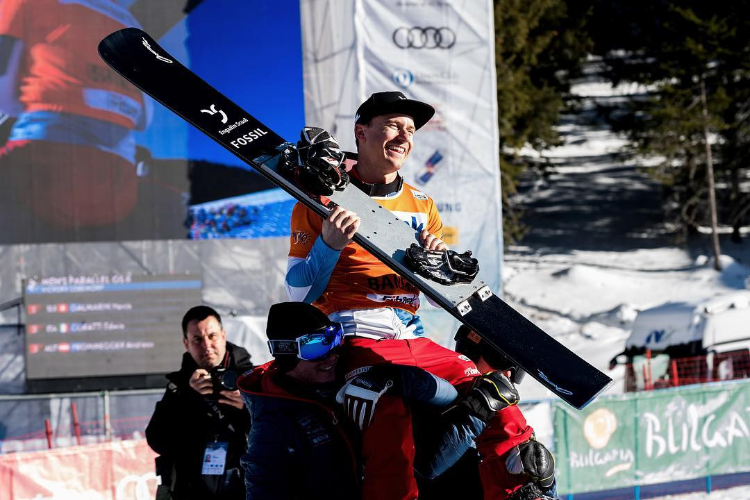 Still on a high! Huge thanks to my sponsors for everything, you guys rock 🤘🏽 @engadinscuol | @fossil | @hochalpinesinstitutftan | @oxess_gear | @girosnow | @chrissports.ch | @deeluxeboots | @zaniergloves | @holmenkol | @wf.winforce | @fadesignouterwear  Thanks also to and @swisscom @helvetia.schweiz @raiffeisenschweiz @bkwag @audischweiz and @schweizersporthilfe : @mihamatavz