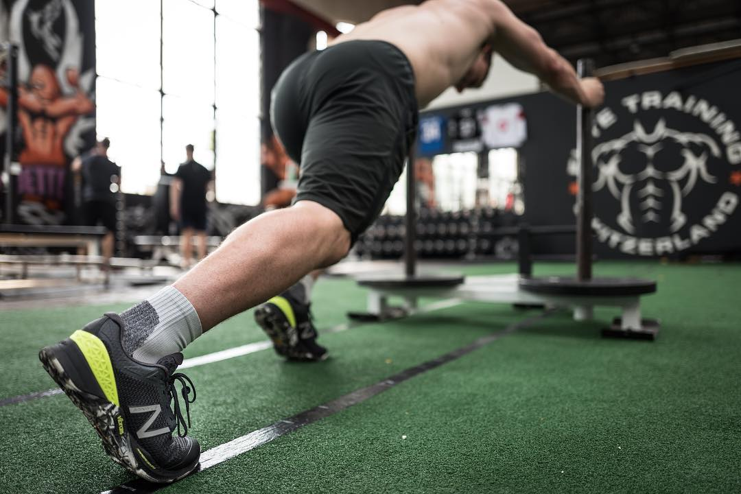 Prowler pushes into the weekend  @newbalance MX40 training kicks delivering traction when you need it!