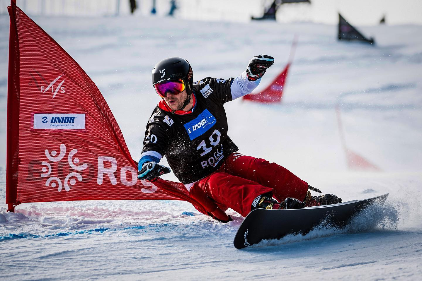Recently I'm getting asked the same question over and over again: Are we gonna race the @fissnowboard World Cup tour during the Covid-19 pandemic? So, as things are changing rapildy right now it's probably hard to tell. But fact is that we do have a stacked World Cup tour on the calendar with races in Switzerland (@engadinscuolzernez ), Italy, Austria, Germany, Slowenia, South Korea, Russia and a World Champaionships in China. Only two World Cups in Canada got cancelled so far. I guess all the local organizers do their best to make it happen, while still being dependent on something entirely uncontrollable. What does that mean for me: It means nothing. I focus on what I can influence and that's my training. And when there is a race, I will be ready.