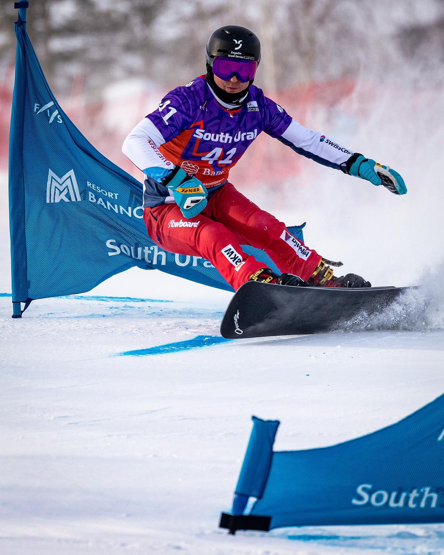 A tough week in Russia comes to an end. I crashed, I made mistakes but I also made some good turns here and there. Today's 16th place in the Slalom @fisworldcup_bannoye2021 was a step in the right direction though. I knew it's not gonna be a walk in the park to be back in the worldcup and I'm ready to continue the fight 🤘🏽 . . . . : @paveltabarchuk